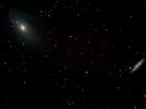 Bode's Galaxie (M 81) & Zigarren-Galaxie (M 82) im UMa