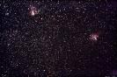 Omega-Nebel (M17) im Sgr & Adler-Nebel (M 16) im Ser