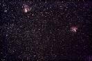 Omega-Nebel (M17) & Adler-Nebel (M 16)